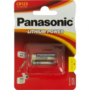 Baterija Panasonic CR-123AL/1BP